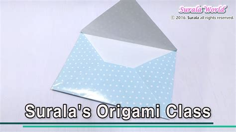 origami envelope basic  card letter doovi