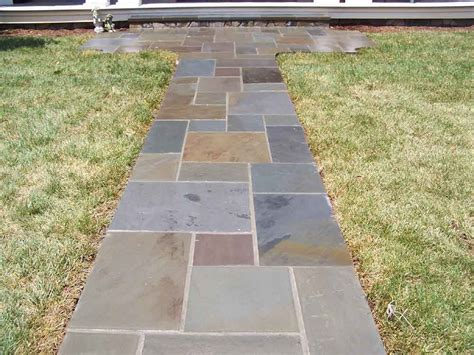 flagstone sidewalk flagstone walkway professional stone work silver spring md phone 240 644 4706
