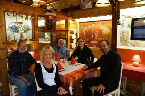 chambre franco suisse owner and guests from the community photo de hotel arbez