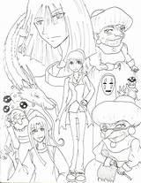 Coloring Ghibli Studio Pages Spirited Away Colouring Printable Miyazaki Getcolorings Hayao Print Visit Getdrawings Freecoloringpages Sketches sketch template
