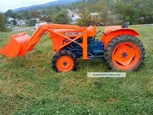 Kubota L185dt Compact Diesel Tractor W  U0026 39  Front End Loader