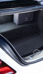 Mercedes S-Class hybrid (2019-2020) practicality & boot ...