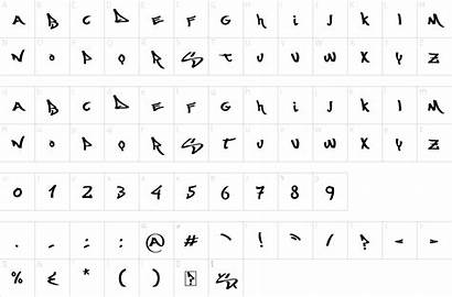 Font Yorker Times Wasted Fonts Character Map