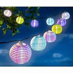 Lampion Lichterkette Solar : led solar lampion lichterkette online kaufen die moderne ~ Watch28wear.com Haus und Dekorationen