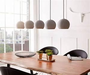 Hängeleuchten Esstisch Modern : die besten 25 pendelleuchte beton ideen auf pinterest betonlampe pendelleuchte etsy ~ Orissabook.com Haus und Dekorationen