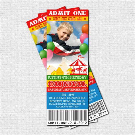carnival event invitation ticket template free carnival ticket invitation template free clip free clip on clipart library