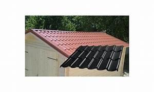 Tuile Pour Toiture : tuile acier pour abri de jardin cahors ~ Premium-room.com Idées de Décoration