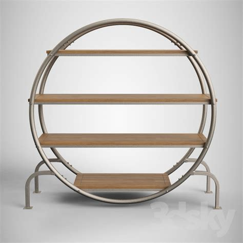 3d Models Other  Round Bookshelf  Round Bookcase