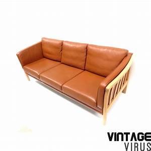 Sofa Dänisches Design : vintage danish design sofa by mogens hansen with cognac ~ Watch28wear.com Haus und Dekorationen