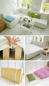 Wohnzimmer Einrichtungs Ideen : 22 geniale einrichtungs ideen f r deine erste eigene wohnung couch bett ideen wohnen auf ~ Eleganceandgraceweddings.com Haus und Dekorationen