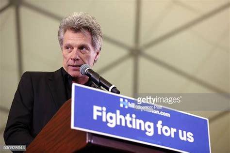 Singer Jon Bon Jovi Speaks Before Democratic Presidential