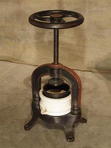 Antique French Fruit Or Wine Grape Press Circa 1910 At