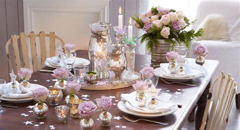 Décoration De Table Romantique Pour Noël Prima