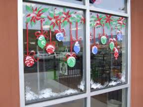Christmas Window Painting Art