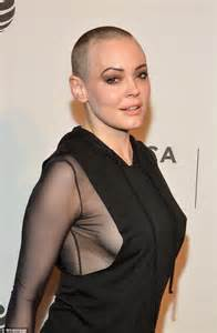 Rose McGowan flashes side boob at Tribeca Film Festival ...