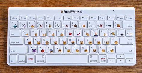 Physical Emoji Keyboard For Mac, Iphone And Ipad From