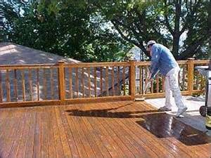 deck fence and concrete sealing restoration and cleaning from house prep home services