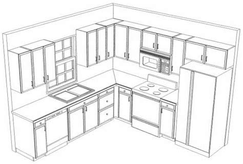 kitchen cabinets layout ideas 10x10 kitchen on l shaped kitchen kitchen layout plans and cheap kitchen cabinets