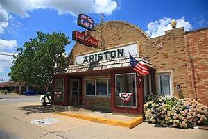 Route 66 - Ariston Cafe Photograph by Frank Romeo