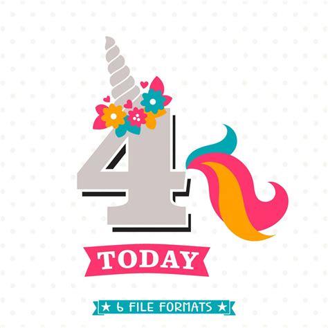 birthday svg unicorn birthday iron  file
