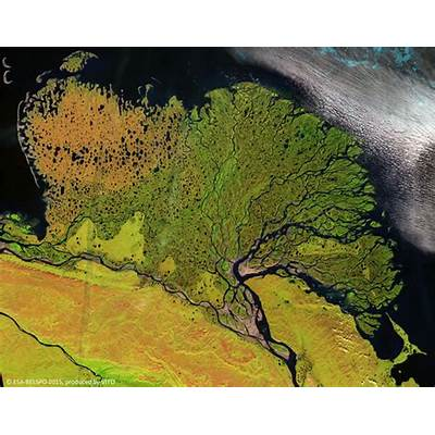 Lena River Russia - Featured Image Earth Online ESA