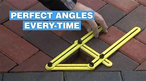 angle measuring tool helps   perfect angles