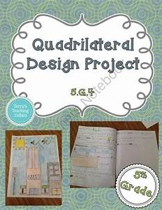 Quadrilateral Design Project - 5th Grade Geometry from ...