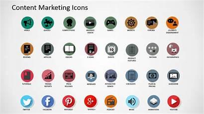 Matrix Marketing Digital Powerpoint Icons Asset Template