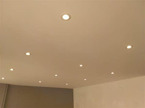 plafond suspendu cuisine eclairage