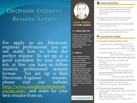 electronic engineer resume sleformat1