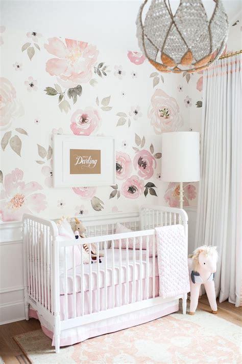 nursery  monika hibbs pink  gold nursery