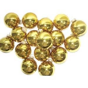 club pack of 36 shiny gold glass ball christmas ornaments 2 5 quot walmart com