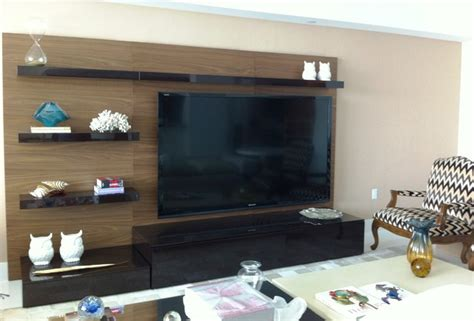 Latest Interiors For Living Room by Wall Units And Home Theater Installation Contemporary