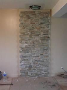 Pose Pierre De Parement : mur en pierre de parement excellent mur en pierre de ~ Dailycaller-alerts.com Idées de Décoration