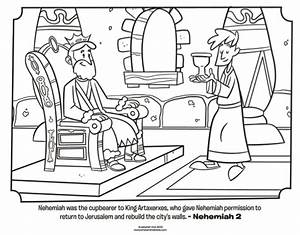 Nehemiah Bible Coloring Pages Whats In The
