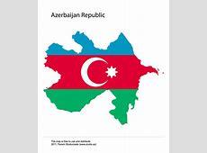Vector Print Maps of Azerbaijan Republic
