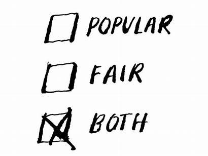 Dialogue Vote Invitation Option Popular Opinion