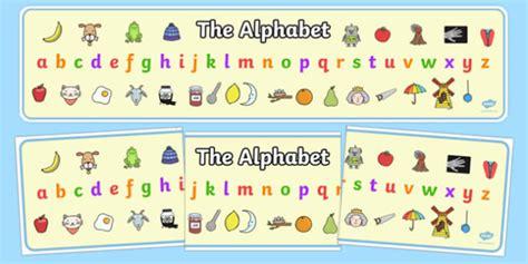 Alphabet Banner, Alphabet
