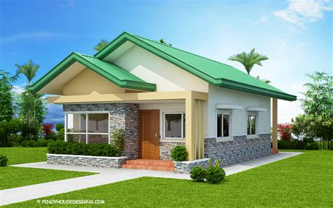 Three D Home Designs :  Charming Three-bedroom Bungalow House