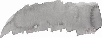 Brush Grey Watercolor Transparent Stroke Onlygfx Pngio