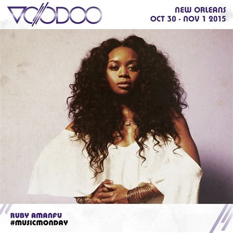 Ruby Amanfu at Voodoo Experience in 2015