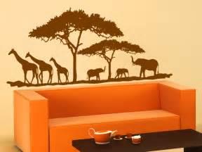 schlafzimmer rosa grau afrikanische savanne wandtattoo savanne bei wandtattoos de