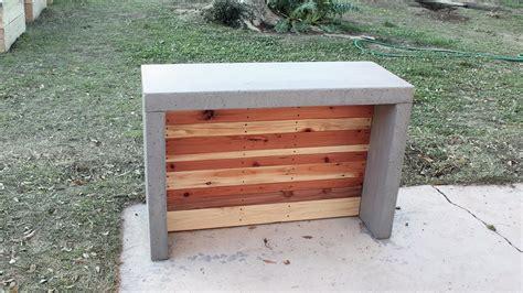 how to make an outdoor concrete countertop how to make concrete countertops for an outdoor bar or