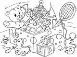 Toys Coloring Pages Boy sketch template