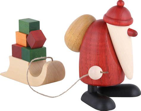 Weihnachtsmann Mit Geschenkeschlitten (9cm) Von Björn Köhler