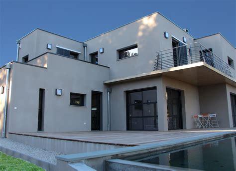 facade maison moderne