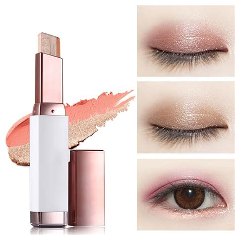 eyebrow shadows stick double color gradient eyes makeup