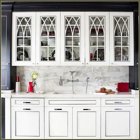 glass front kitchen cabinets lowes glass kitchen cabinet doors lowes image to u 6827