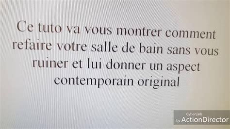 Comment Refaire Sa Salle De Bain Soi Meme Daiitcom