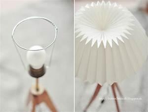Stehlampe Aus Papier : herzschmiede diy origami lamp ~ A.2002-acura-tl-radio.info Haus und Dekorationen